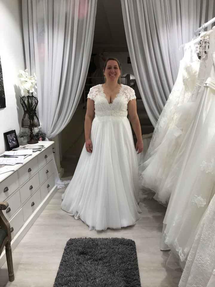 Mariée grande taille - 1