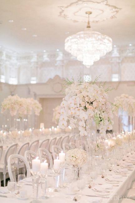 Un mariage moderne et immacul d coration forum for Objets de decoration de luxe