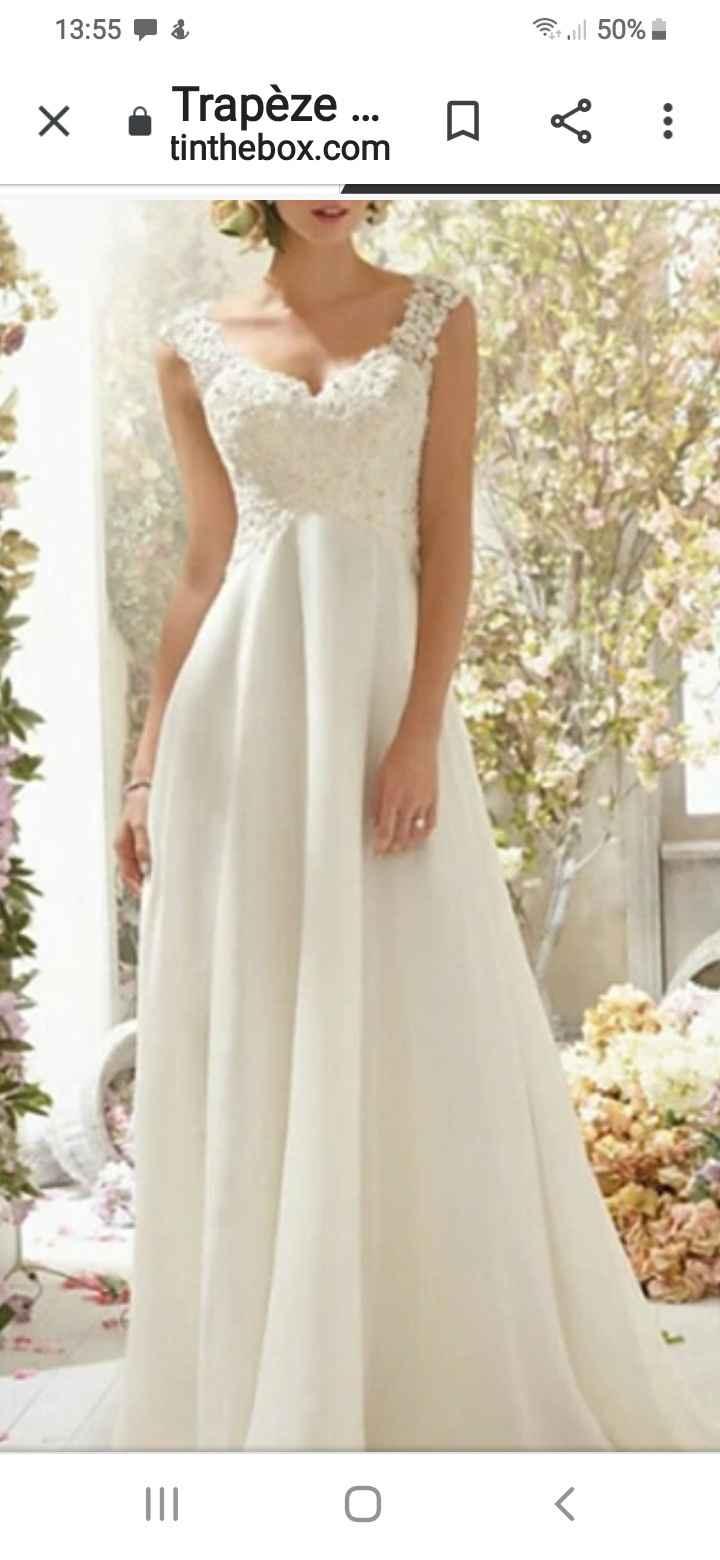 Tu seras une mariée habillée en blanc ou en couleurs ? 1