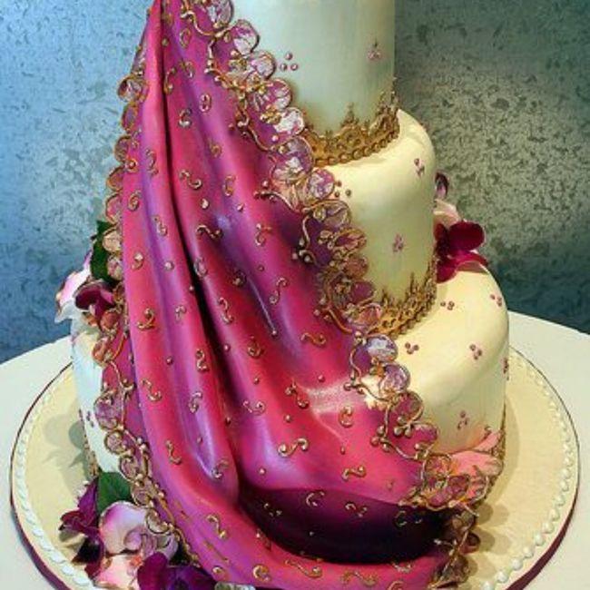 Gâteau de mariage 1
