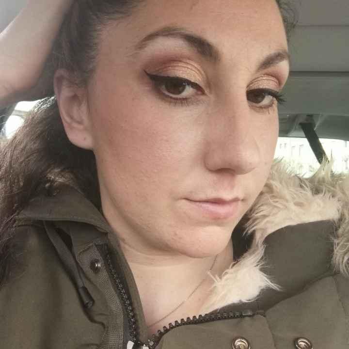 Essai maquillage 😍 - 2