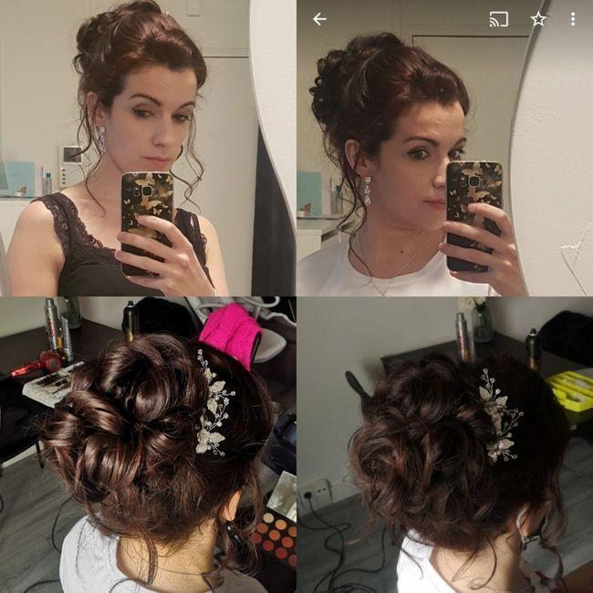 Longueur cheveux & chignon 13