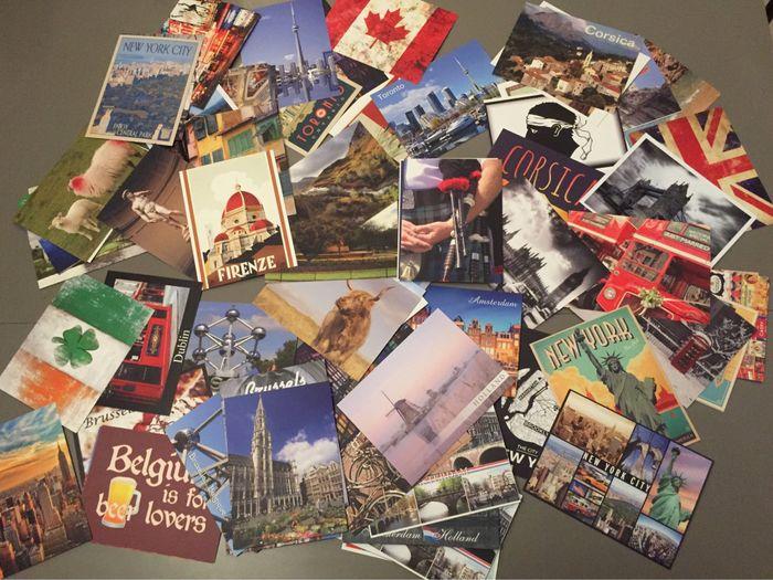 Cartes postales d'or - Organisation du mariage - Forum Mariages.net
