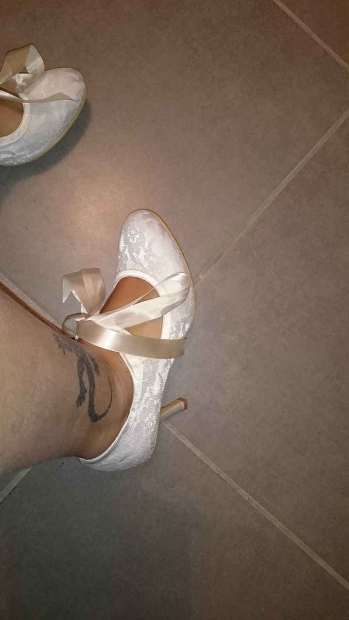 Les chaussures du jour j - 1