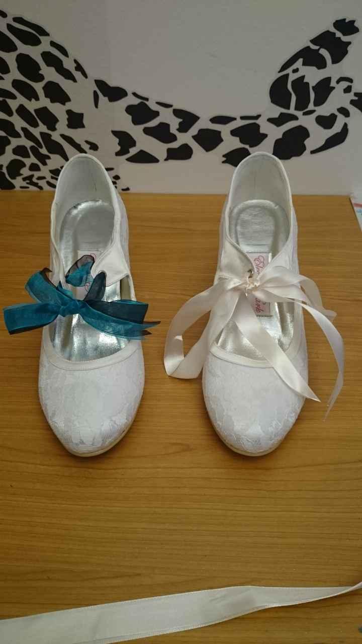 Choix des lacets pour mes chaussures - 1