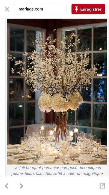 Deco centre de table d 39 honneur d coration forum - Deco jardin pour mariage vitry sur seine ...