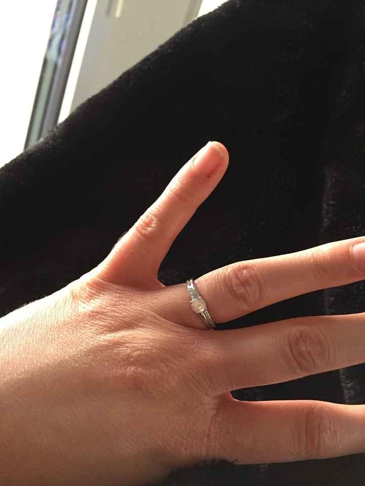 Ma bague de fiançailles - 1