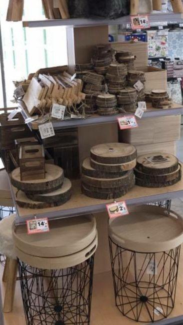 Oú trouver des rondelles de bois? - 1