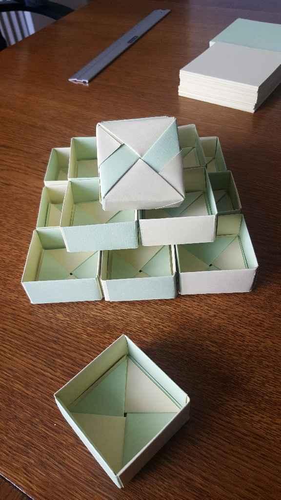 Atelier boîte cadeaux invités - 1