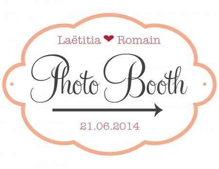 Mon panneau photobooth
