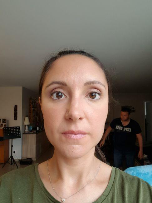 1Er essai maquillage ! 2