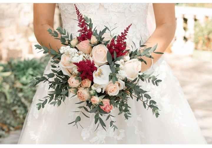 Bouquets fleurs séchées pour la déco des tables - 1