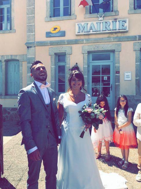 Enfin mariés 🥰 2