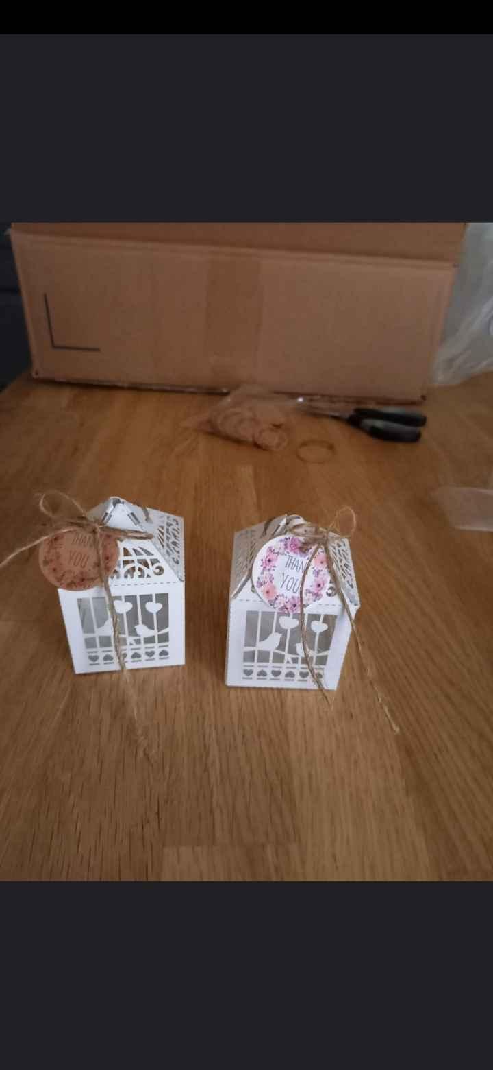 Idées boites des dragées - 1