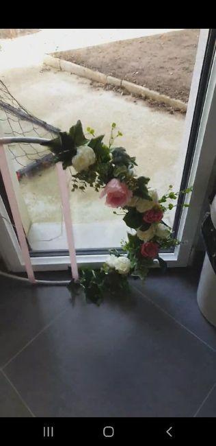Diy du jour arche fleuri 1