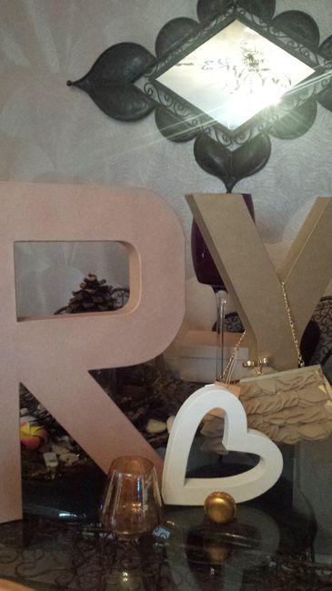 Lettres décoratives XL à poser (table, jardin..) - 1