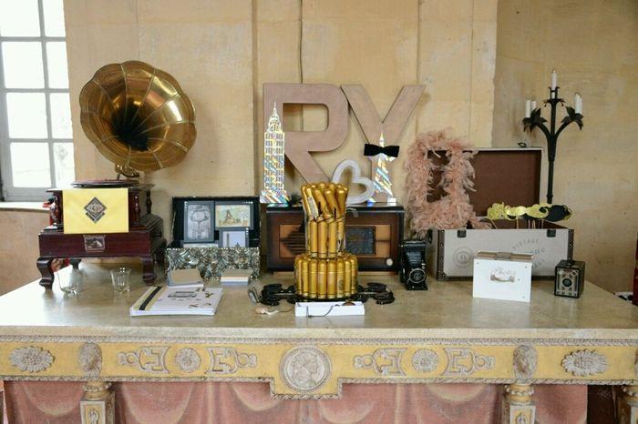 Photos de votre d coration de mariage apr s le mariage forum - Decoration annees folles ...