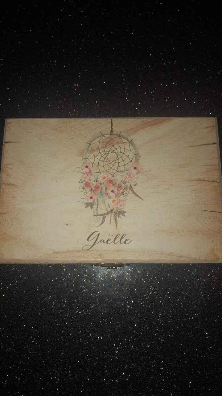 Boîte cadeaux témoins et demoiselles d'honneurs - 1