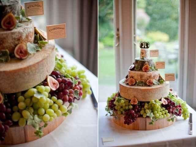 Pièce montée fromage - 2