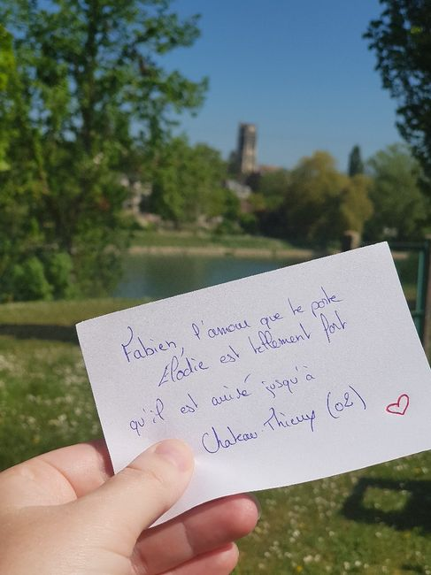 Love note d'amour 7