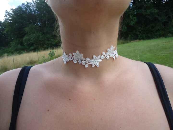 Voilà mon collier DIY