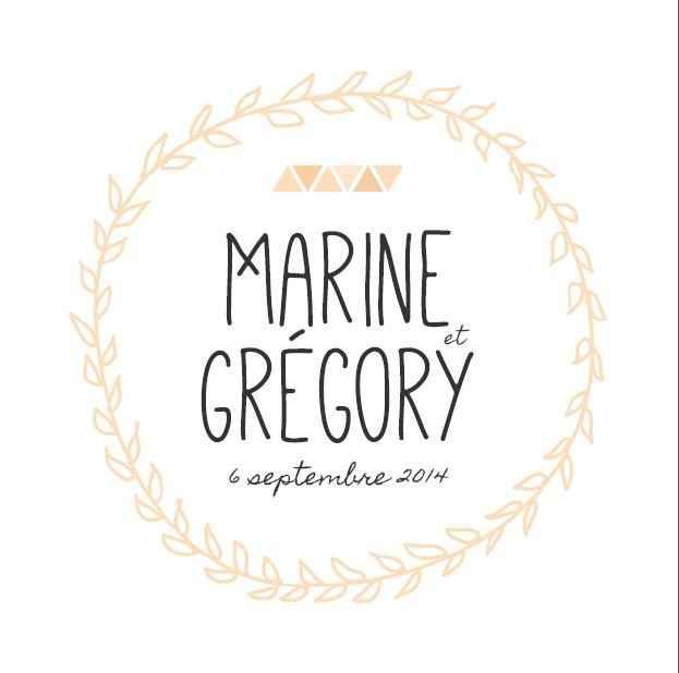Notre logo de mariage !