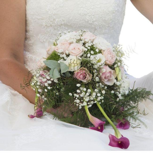 Le bouquet de mariée rose 🤗!!! 5