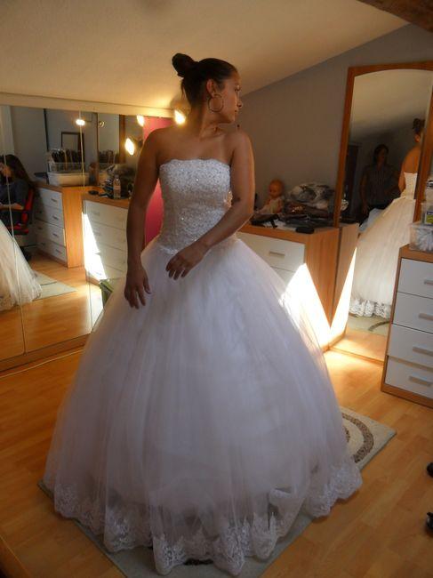 Ma futur robe de face !!!