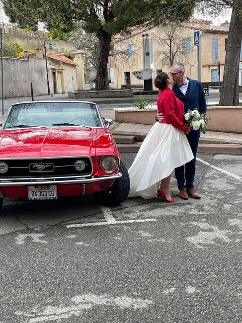 Voiture mariés 2