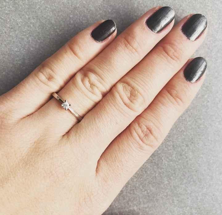 Et votre bague de fiançailles ? 💓 - 1