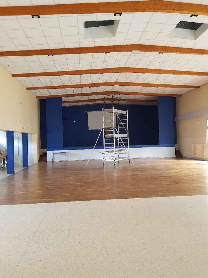 Problème plafond salle... - 1
