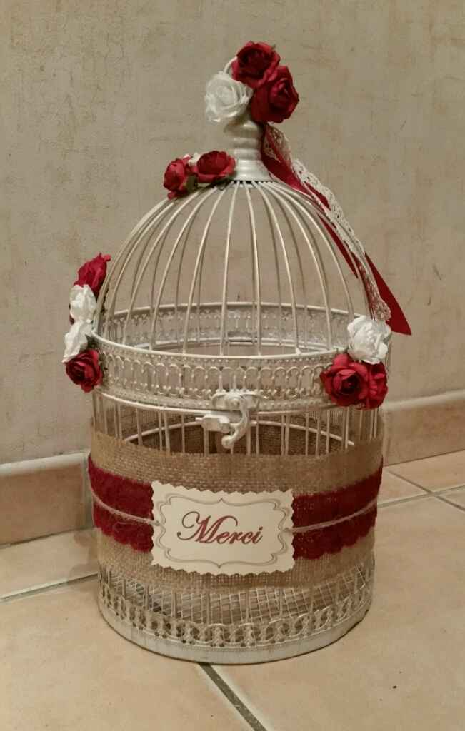 Photos de vos urnes cage à oiseaux ! - 1