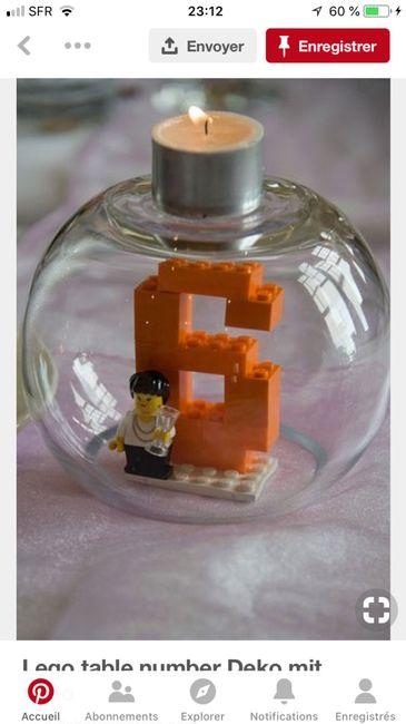 Centres de tables LEGO 4