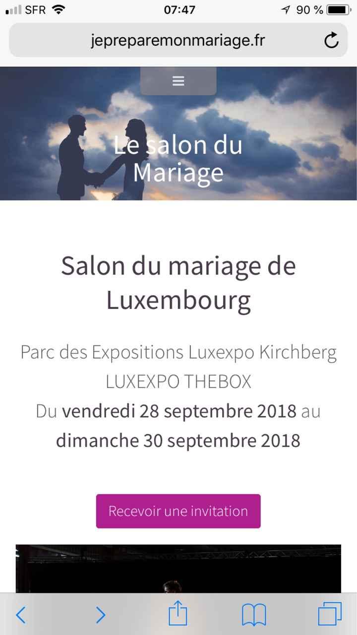 Salon du mariage Luxembourg - 1