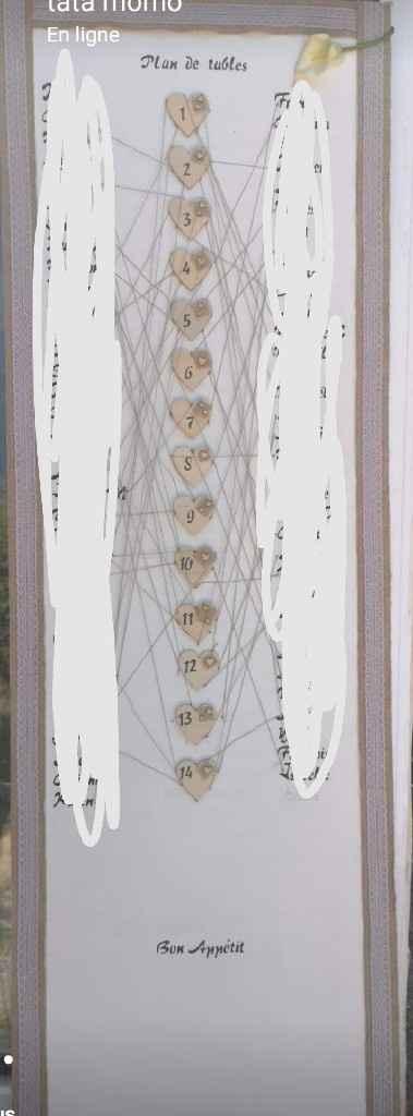 Plan de tables - 1