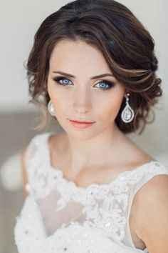 Maquillage Mariée Pour Les Yeux Bleus