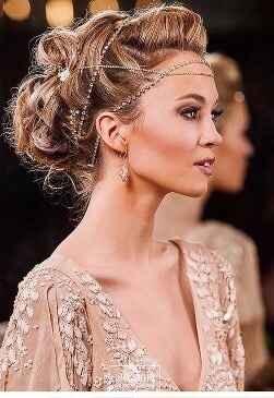 Coiffure cheveux longs - 1