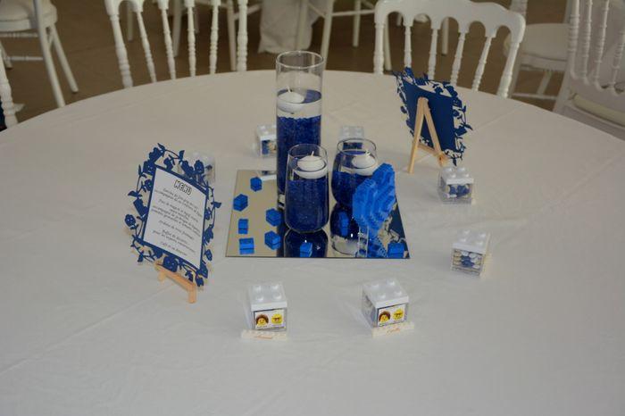 Centres de tables LEGO 3
