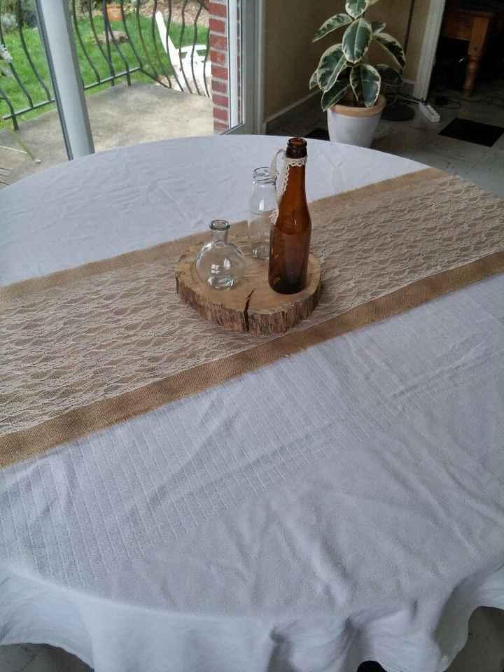 Tout premier jet de déco de table ! - 1