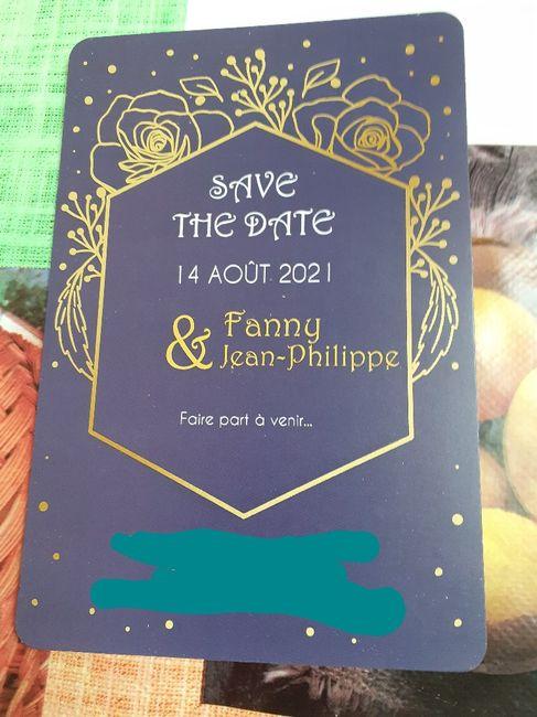 Save the date envoyé 😁 - 1