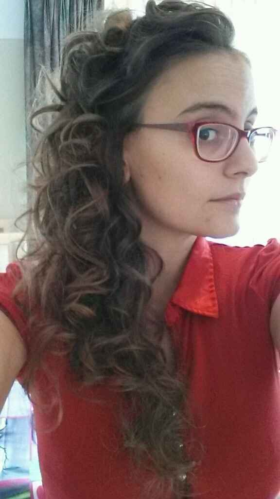 Essai coiffure :) - 1