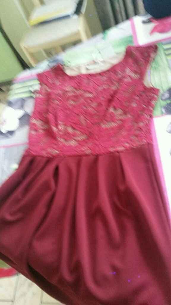 Ma robe du lendemain enfin trouvée - 1