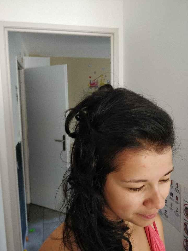 Mon essaie coiffure à j-8 - 2
