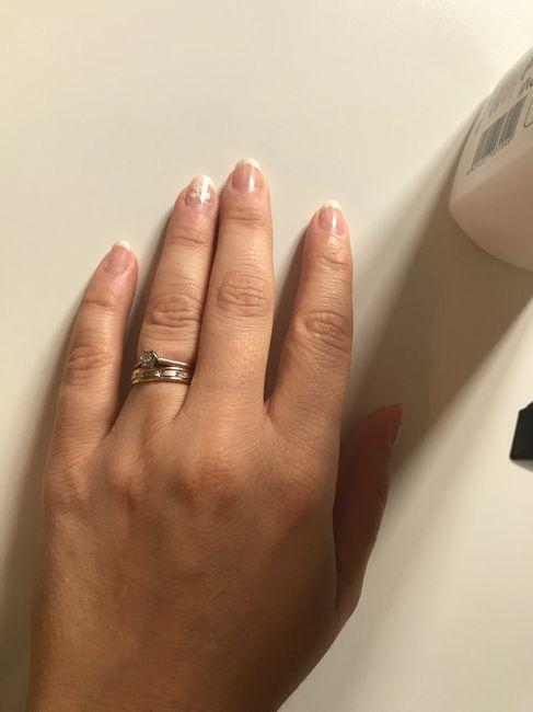 Vos bagues de fiançailles et alliance : montrez moi 8