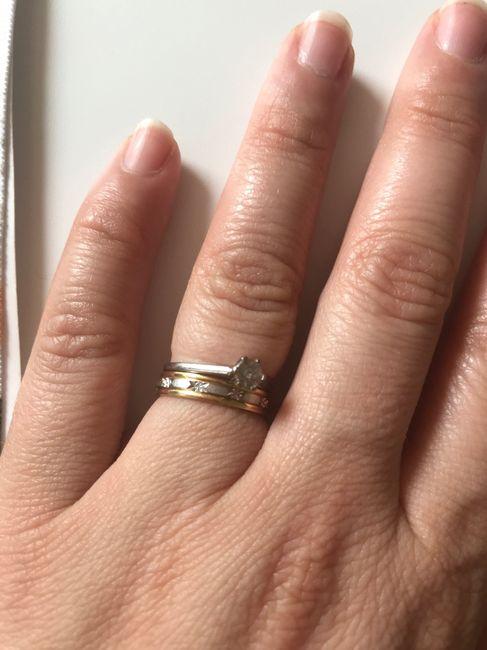 Bague de fiançailles et alliance 5