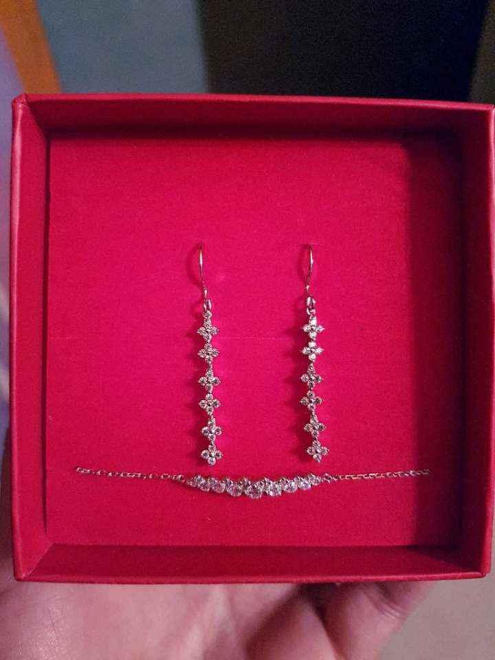 Boucles d'oreilles + bracelet