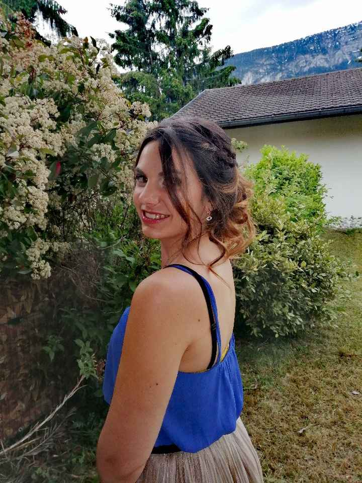 Essai maquillage et coiffure - 7