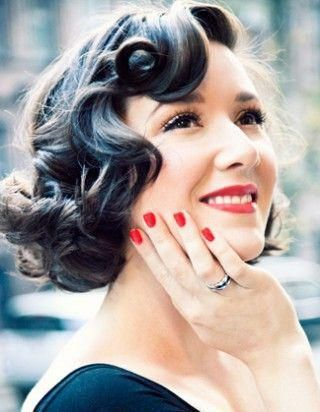 Coiffure pin up cheveux courts ????? 5