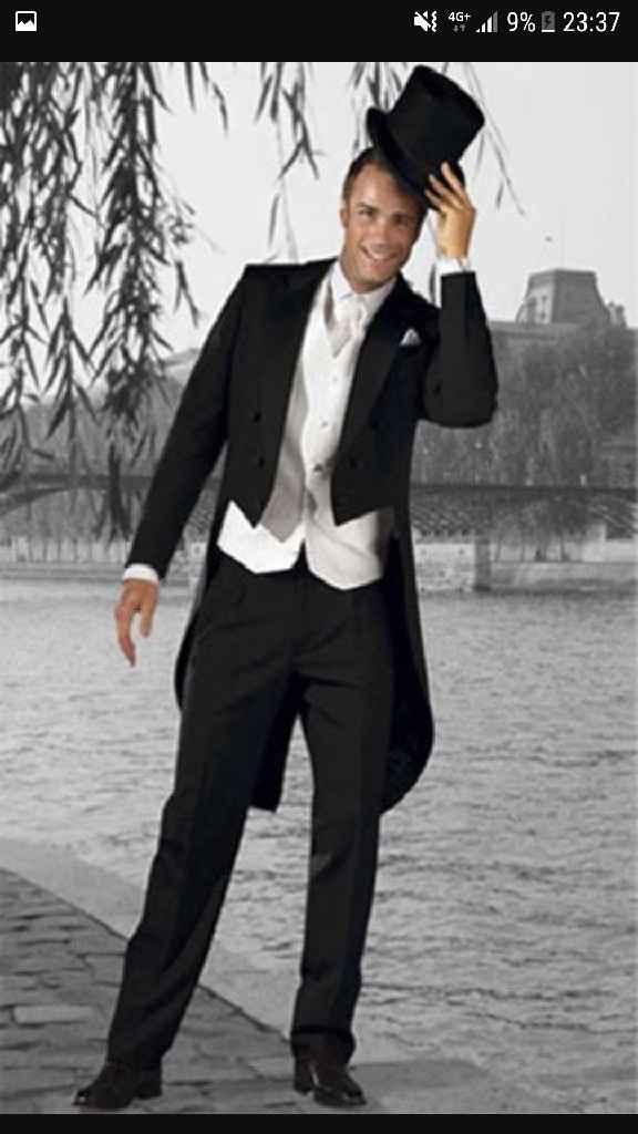 Et vous, dans quel type de costume rêvez-vous de voir votre futur mari ? :) - 2