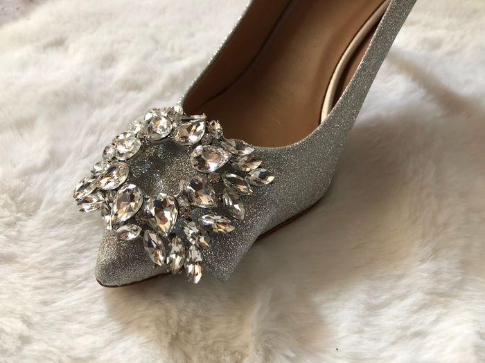 Mes chaussures pour le jourj 2